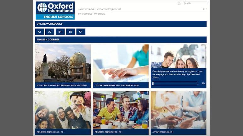Oxford International Online E-learning Platform